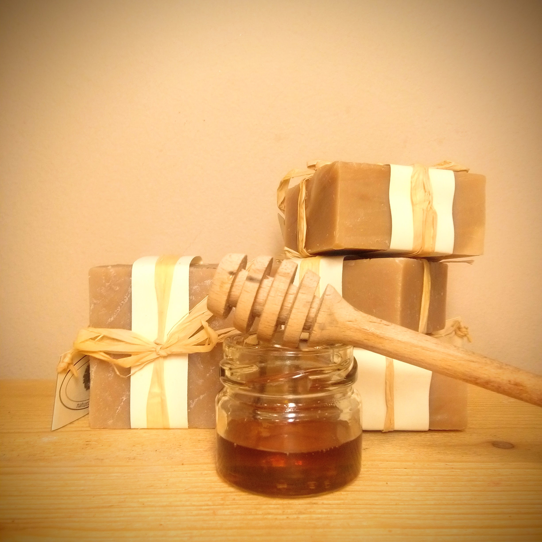 Σαπούνι με μέλι και γάλα