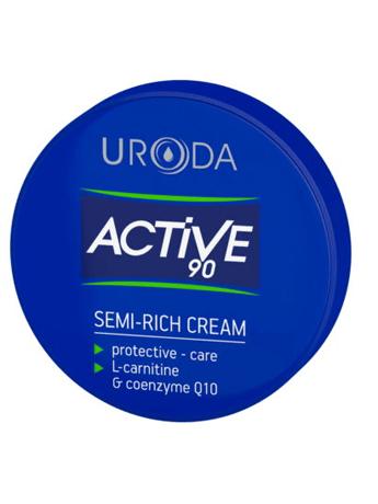 Κρέμα προσώπου προστατευτική Uroda Active 90 24ωρη 50ml