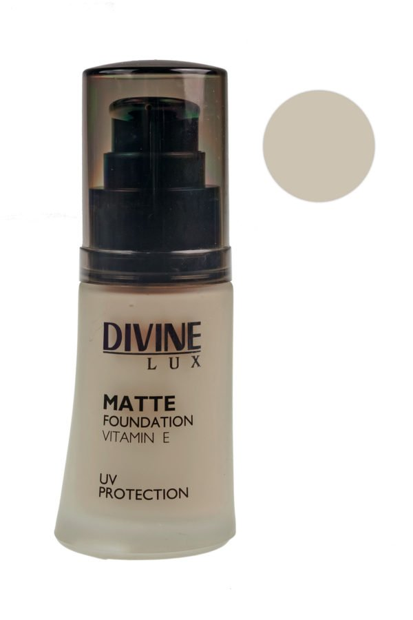 Divine Matte Foundation UV Protection 30ml