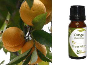 αιθέριο έλαιο πορτοκάλι