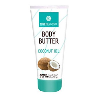 Body Butter με λάδι Καρύδας