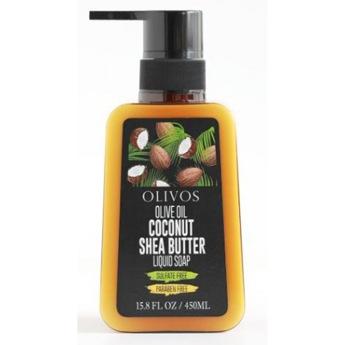 olivos υγρο σαπουνι καριτε καρυδα