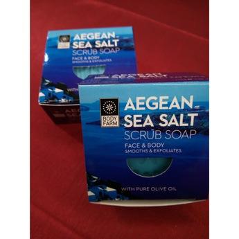 Απολεπιστικό Σαπούνι με θαλασσινό Αλάτι