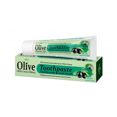 Herbolive Οδοντόκρεμα Με Ελαιόλαδο & Κρητικό Δίκταμο