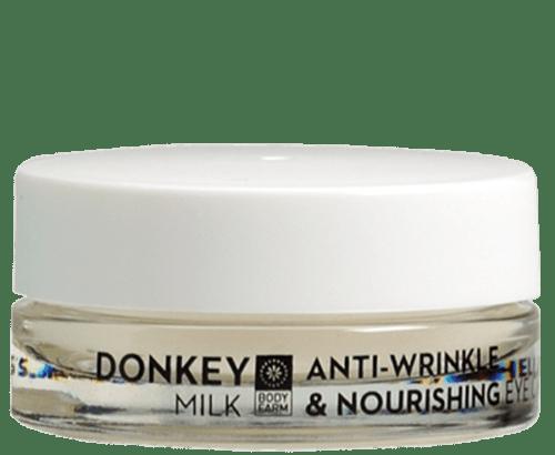 Αντιρυτιδική & Θρεπτική Κρέμα Ματιών με Γάλα Γαϊδούρας 15ml