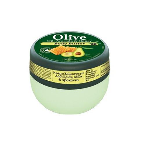 Mini Body Butter με Αβοκάντο & Μέλι (Βούτυρο Σώματος)