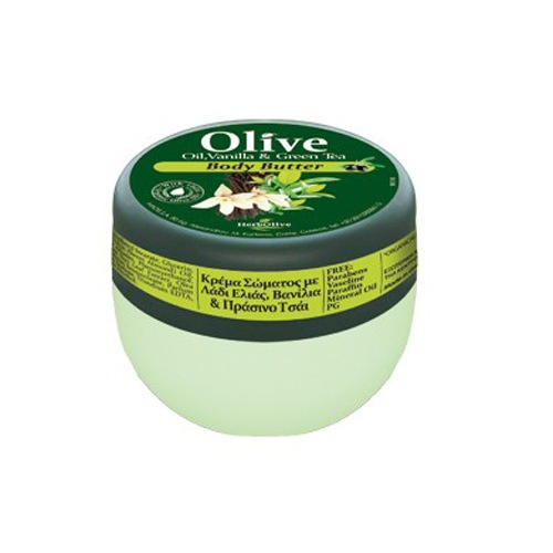 Mini Body Butter με Βανίλια & Πράσινο Τσάι (Βούτυρο Σώματος)